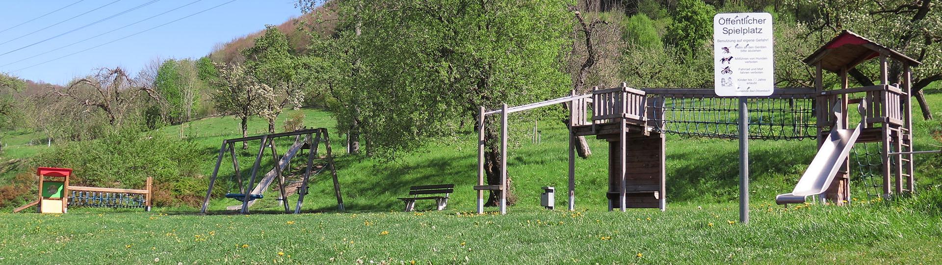 Spielplatz Mühlwiesen